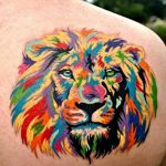 lion tattoo removal